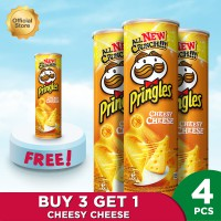 Pringles CheesyCheese 107gr Package (4 Pcs)