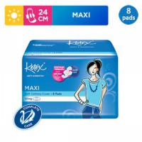 Kotex Soft & Smooth Maxi Plus Wing (8 pcs)