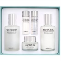 QUEENFEI FITO DUAL ACTIVE SKIN CARE SET [KEUMCHEONG PHARM]