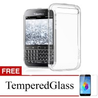 Case for Blackberry Aurora - Clear - Gratis Tempered Glass - Ultra Thin Soft Case