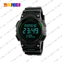 Jam Tangan Pria Digital SKMEI 1248 Black Green Water Resistant 50M