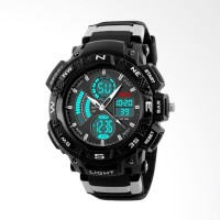 ORIGINAL Men Watch SKMEI 1211 Jam Tangan Pria Sporty Water Resistant