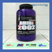 Ultimate Nutrition Amino 2002 330 Tablets / 330tabs power protein suplemen supplement tablet tabs