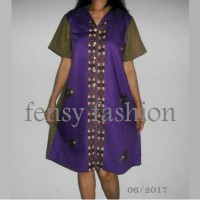 Aline Dress Batik Katun