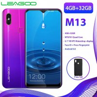 Leagoo m13 Smartphone Android 6.0 4GB RAM ROM 32GB mt6761 Quad Core 4GB LTE mt6761