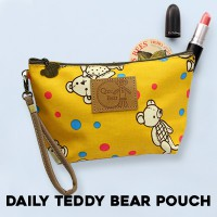 KOREAN STYLE ★ Daily Pouch Collection/Water Proof/Tahan Air/Tas kosmetik/Tas travel/Tas makeup