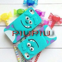 Case Silicone Rubber 3D Sulley Oppo Neo 5,7,9,F1,F1S,F1 Plus, Xiaomi Redmi 2,Note 2,3,Iphone 4,5,6
