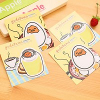 sno024 sticky notes gudetama telur eggs sticky notes