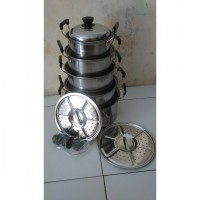harga Panci Langseng / Panci Steamer Set New Dutch Oven - 12 Pcs elevenia.co.id