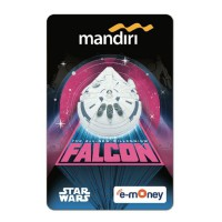 Mandiri e-Money Star Wars Han Solo - Falcon