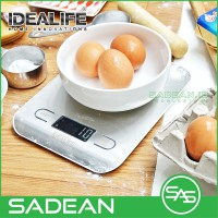 Digital Kitchen Scale 5KG 1GR timbangan dapur kue - IDEALIFE IL-211SE
