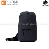 Xiaomi Mi City Sling Bag Tas Selempang Original - Dark Grey