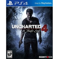 PS4 UNCHARTED 4 A THIEFS END Reg 2 EUR English