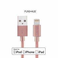 PUREHUB Lightning Cable Precise 3D [55128] - Gold