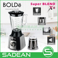 Blender and Chopper 2 in 1 BOLDe Super Blend X8