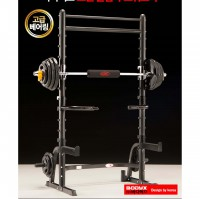BODYX TWIN PULLUP BAR SQUAT RACK BF-4070/BF-3003 (No Plate)