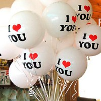 Balon I Love You / Will You Merry Me|Balon Nembak Cewe|Balon Cinta Murah Berkualitas
