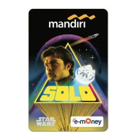 Mandiri e-Money Star Wars Han Solo - Han Solo