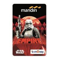 Mandiri e-Money Star Wars Han Solo - Empire
