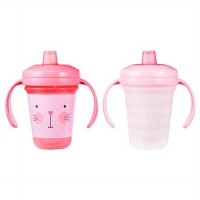 THE FIRST YEARS STACKABLE SOFT SPOUT TRAINING CUP BOTOL MINUM ANAK 7oz/ 207ml (2 pcs)