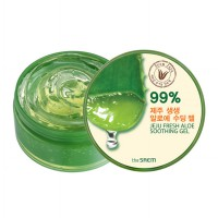 (POP UP AIA) [Official Store] The Saem Jeju Fresh Aloe Soothing Gel 99% (Original 100%)