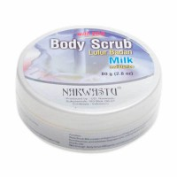 Narwastu Body Scrub Milk Strawberry 80gram