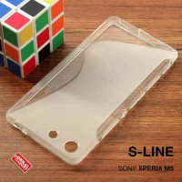 Sony Xperia M5 Soft Jelly Gel Silicon Silikon TPU Case Softcase Clear