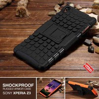 Sony Xperia Z3 Rugged Shockproof Armor Hybrid Hard Case  Soft Case