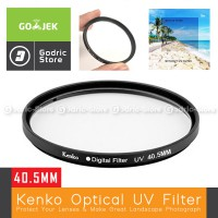 Kenko UV Filter 40.5MM for Sony A5000 A5100 A6000 A6300 Etc & DSLR Mirroless with Lens Kit 16-50MM