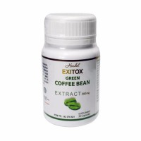 Green Coffee Bean Hendel Exitox Extract 500Mg Pelangsing Alami - 30 kapsul