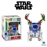 Funko POP! Star Wars Holiday - R2-D2 with Christmas Reindeer Antlers