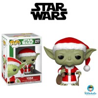 Funko POP! Star Wars Holiday - Yoda as Christmas Santa #277