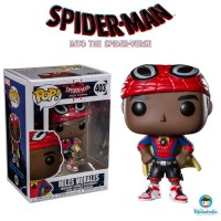 Funko POP! Marvel Spider-Man Into the Spider-Verse Miles Morales Cape