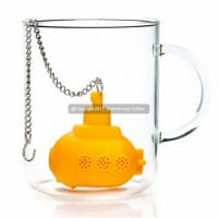 Mokhamano Submarine Tea Strainer Filter Infuser Saringan Teh & Herbal