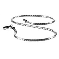 Kalung Pria Tambang Exclusive Cable Link Titanium 316L Stainless Steel
