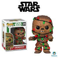 Funko POP! Star Wars Holiday - Chewbacca (Lights) #278
