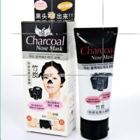 Charcoal Nose Mask Masker Komedo Arang Black Mask 60g