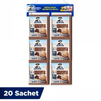 Quaker 3in1 Cokelat Renceng 20 Sachets