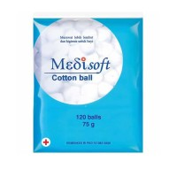 Medisoft Cotton Balls 120 Balls /PCS