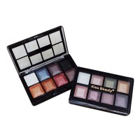 (10 in 1) Pocket Eyeshadow / Shimmer Brick by KISS BEAUTY