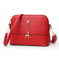 Medium Messenger Bags with Deer Charms - 4 color