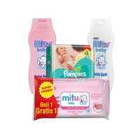 Paket Pampers Bundle New Baby 2
