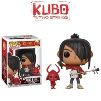 Funko POP! Movies Kubo and the Two Strings - Kubo & Little Hanzo #650