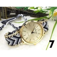 Geneva 273 Jam Tangan Watch Wool Woven