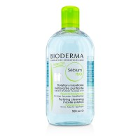 Bioderma Sebium H2O Purifying Cleansing Micelle Solution - For Combination/Oily Skin (Exp. Date: 04/2018) 500ml/16.7oz
