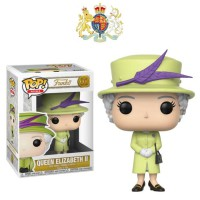 Funko POP! Royals Royal Family - Queen Elizabeth II (Green Outfit) #1