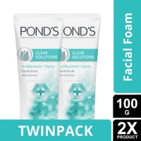 TWINPACK - Ponds Clear Solution FC Scrub 100 G