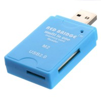 Card Reader Multi All in 1 High Speed USB 2.0 SDHC MS/SD/TF