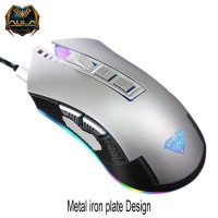 AULA Van Guard 9022 RGB Macro Metal Gaming Mouse