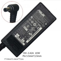 Adapter Charger Laptop Asus 19v-3.42a hitam